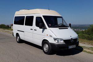 такси Русе-Букурещ-Отопени микробус